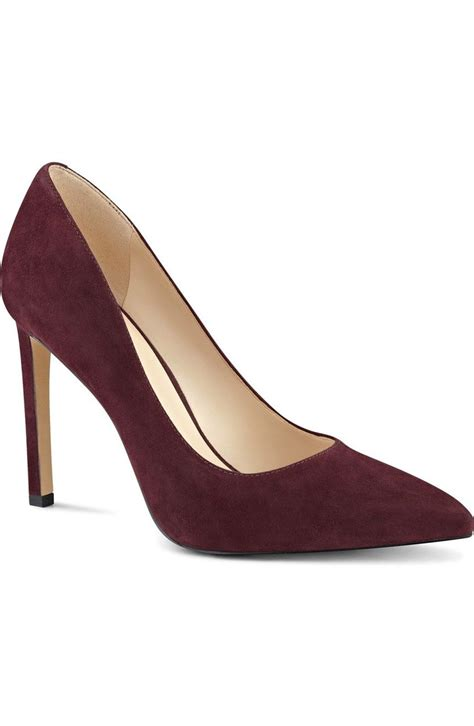wine colored pumps absolutely in these suede wine colored pumps by nine