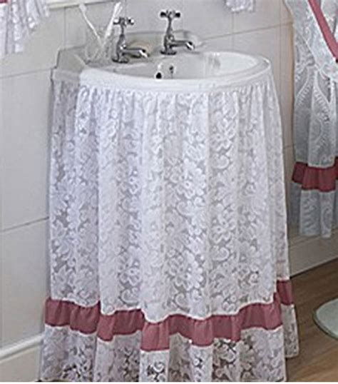 sink skirts for sale assorted lace and voile sink surrounds skirts all