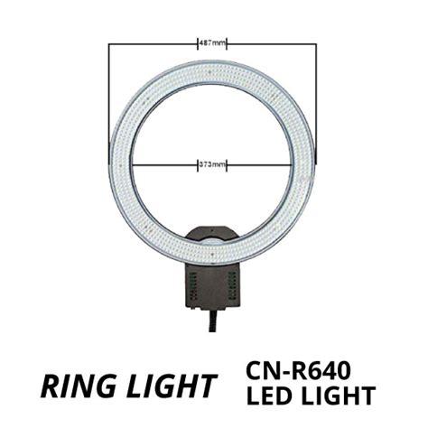 Led Ring Light Cn R640 18 Quot jual ring light cn r640 led harga murah