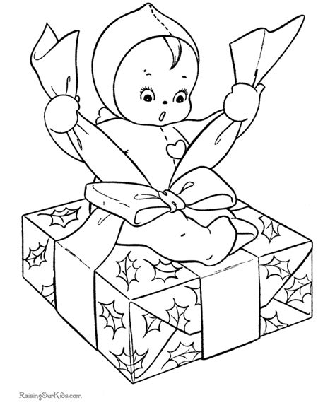 wrapped present coloring page coloring sheet christmas wrapping paper coloring pages