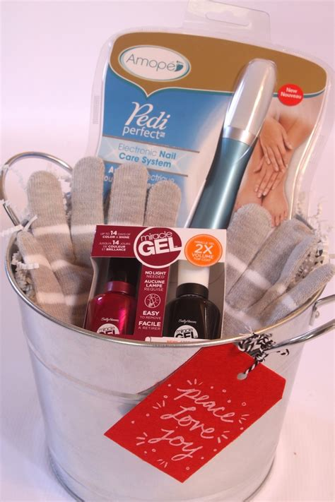 Souvenir Manicure Pedicure manicure pedicure gift baskets with amope pedi