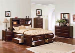 all wood bedroom furniture new 5pc all wood bedroom set w storage a4070 ebay