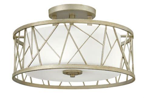 Leaf Light Fixture Fredrick Ramond Fr41622slf Nest Silver Leaf Ceiling Light