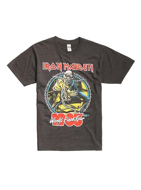 Tshirt Iron Maiden 4 Iron Maiden World Tour 1983 T Shirt Topic