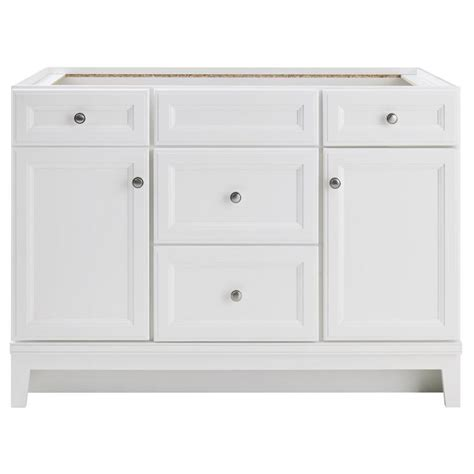 white bathroom vanity 48 shop diamond freshfit calhoun freestanding white bathroom