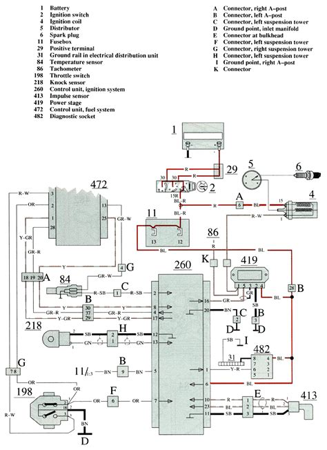 volvo 740 engine wiring diagram led wiring schematic