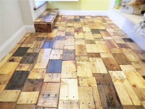 Hardwood Flooring Diy Diy Recycled Pallet Wood Flooring Pallet Ideas Recycled Upcycled Pallets Furniture Projects