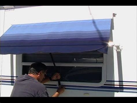 rv awning replacement instructions awning rv awning installation