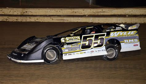 hollow speedway joe martin earns victory for team fully injected friday at hollow speedway