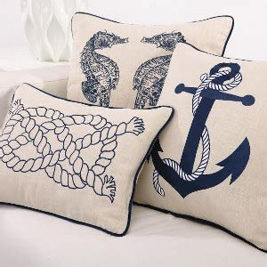 Furniture Outdoor Covers by Nautical Pillows Beach Themed Pillows Coastal Decor Pillows