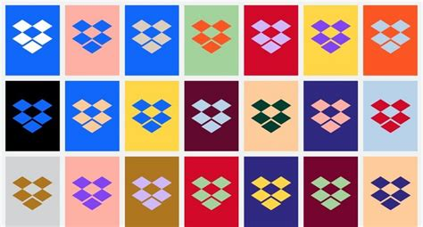 dropbox red x dropbox introduces new brand design with bright colors