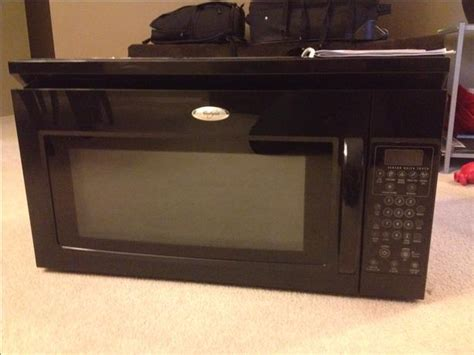 microwave and fan combination whirlpool microwave fan combination otr great find