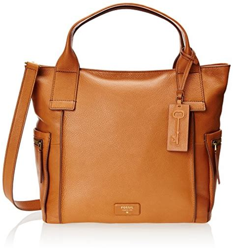 Fossil Emerson Size L fossil emerson satchel camel one size buy in