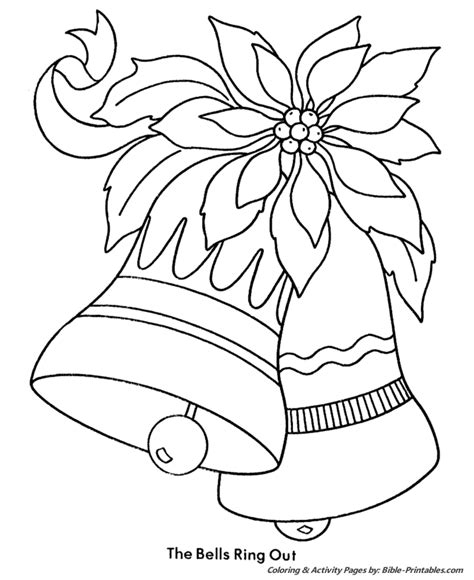 kids christmas colouring pages
