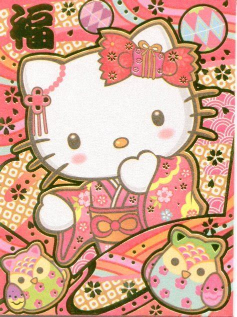 hello kitty new year wallpaper chinese new year red packet hello kitty front 2012 with
