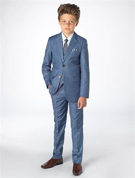 boys light blue suit boys blue chambray suit boys blue wedding suit boys