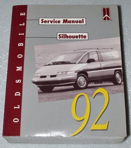 service manual owners manual 1992 oldsmobile silhouette service manual 1992 oldsmobile