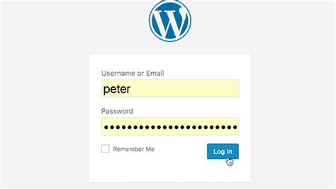 wordpress tutorial user login how to fix wordpress login page refreshing and redirecting