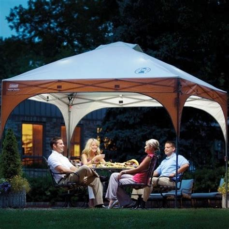 cvalley instant canopy with led lighting system coleman instant canopy with led lighting system