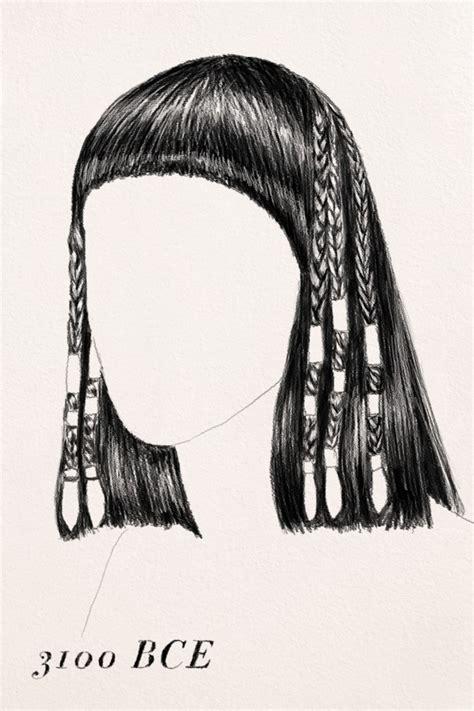 egyptian hairstyles history the history of hair braiding hair braid like an ancient