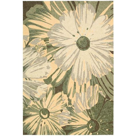 Outdoor Rugs Overstock Nourison Overstock South Kiwi 10 Ft X 13 Ft Indoor Outdoor Area Rug 177742 The Home Depot