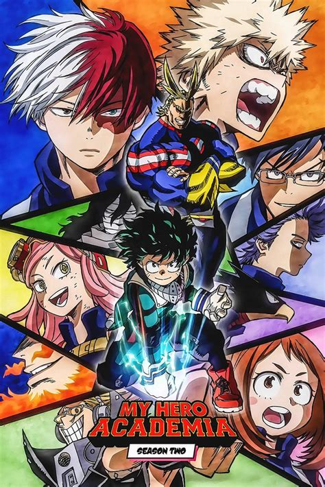 hot anime posters my hero academia anime poster my hot posters
