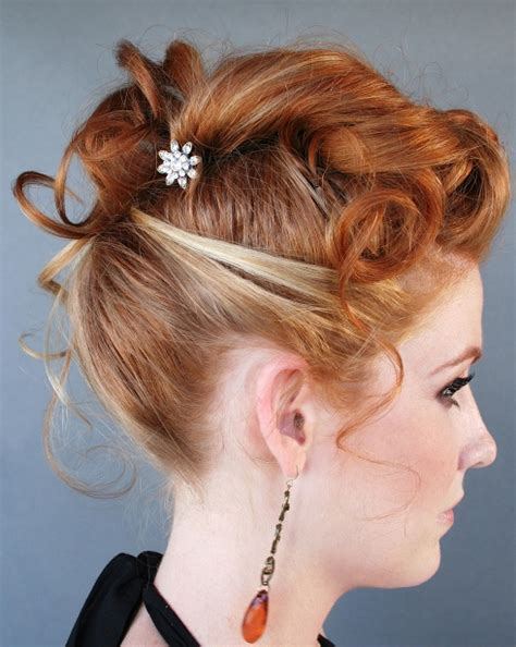 Pin Up Hairstyles For Prom by Stilrankcreasob Pin Up Hairstyles