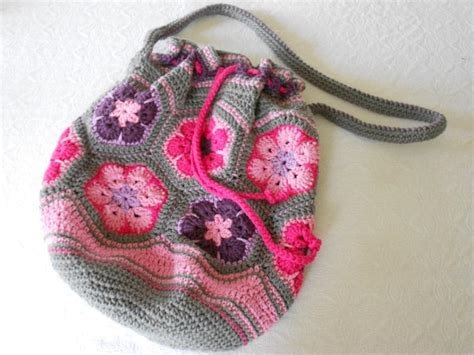african flower crochet pattern bag alla dagar som gick african flower bag pattern