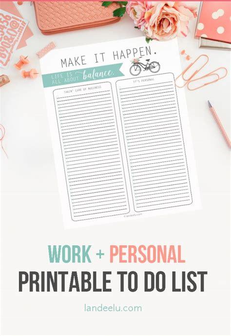 balance to do list template printable landeelu com