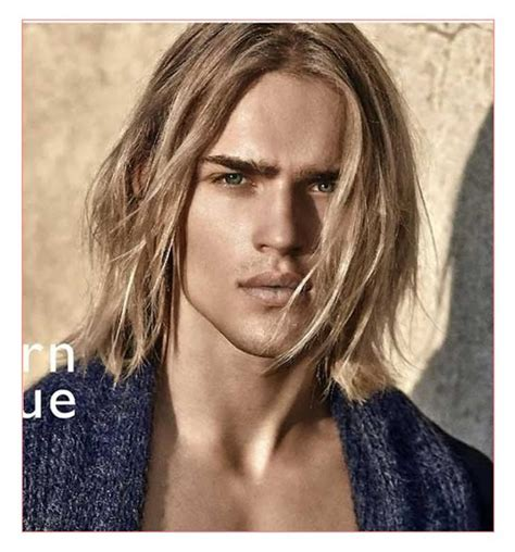 mens hairstyles blonde long mens hairstyles for long blonde hair together with guys