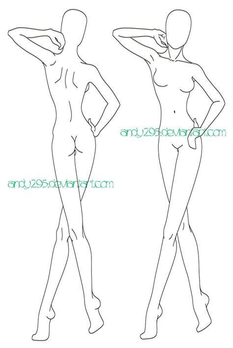 fashion illustration model templates best 25 template ideas on fashion figure