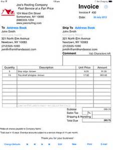 Free Invoice Template For Ipad Simple Invoices Sales Ipad Apps Amp Games On Brothersoft Com