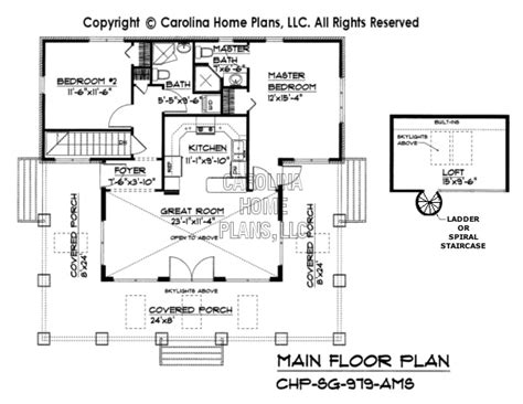 Cracker House Plans small stone craftsman bungalow house plan chp sg 979 ams