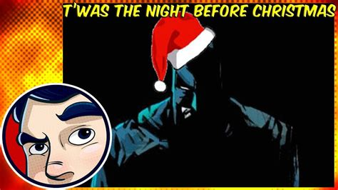 twas the night before christmas in gotham animated