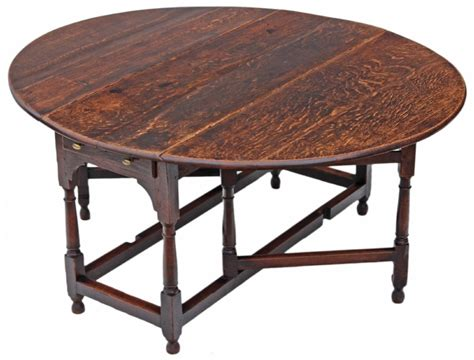 Drop Leaf Gateleg Dining Table Georgian Oak Gateleg Drop Leaf Dining Table 346943 Sellingantiques Co Uk