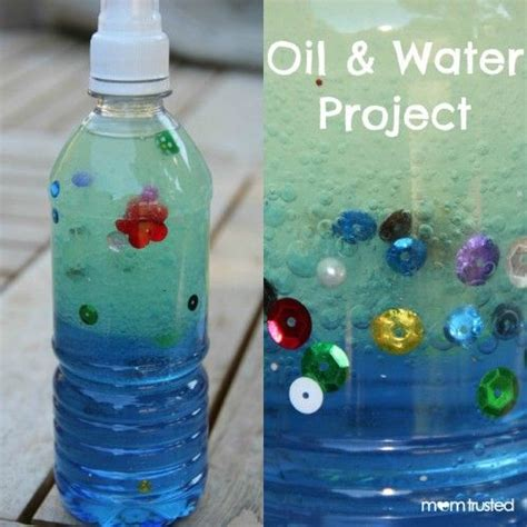 water bottle crafts projects and water project for we did this yesterday and