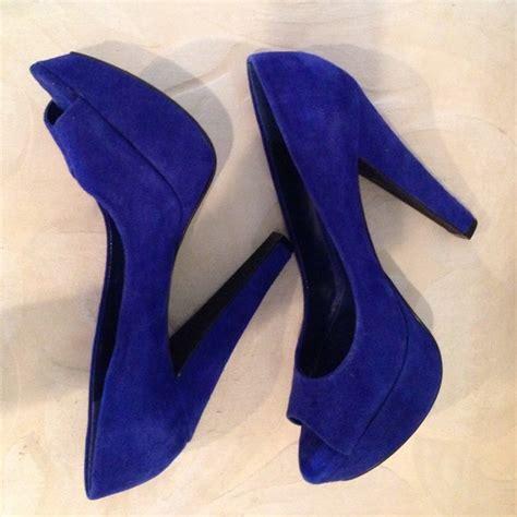 Coach Cherise Pumps by 70 Aldo Shoes Aldo Blue Suede Pumps From Cherise