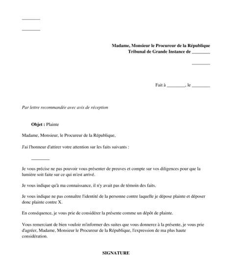 formulario lettere avvocato mod 232 le de lettre exemple word de d 233 p 244 t de plainte au