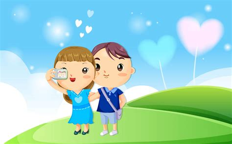 wallpaper of couple cartoon wallpaper backgrounds romantic love wallpapers for