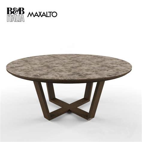 maxalto xilos table 3d model bar stools