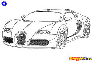 How To Draw A Bugatti Step By Step How To Draw Bugatti Drawing