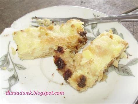 membuat puding roti keju dwek dapur pemula puding roti keju kraft