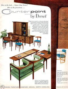 1960s drexel perspective dining room furniture ad drexel on pinterest mid century modern desks and mid