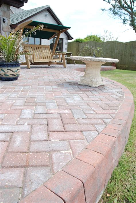 Patio Driveway by Block Paving Patio By South West Driveways