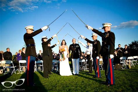 marine corps wedding traditions a guide to weddings bridalguide