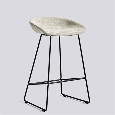 Tabouret Hay About A Stool by Tabouret De Bar About A Stool Aas39 Acier Et Tissu Hay