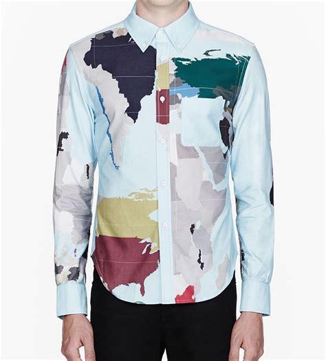 map   world dress shirt soletopia