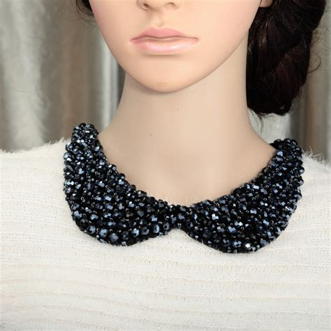 how to make a collar necklace with ways to wear collar neck jewelry trends for womens