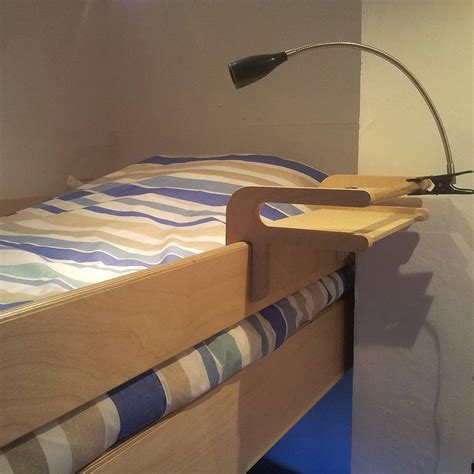 bunk bed with shelf headboard hook on bunk bed shelf by soap designs