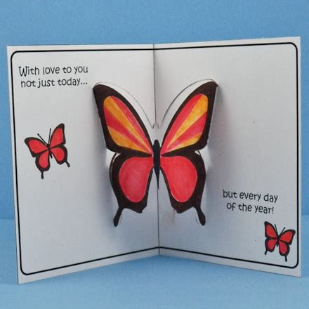 pop up card mothers day templates free how to make pop up cards s crafts